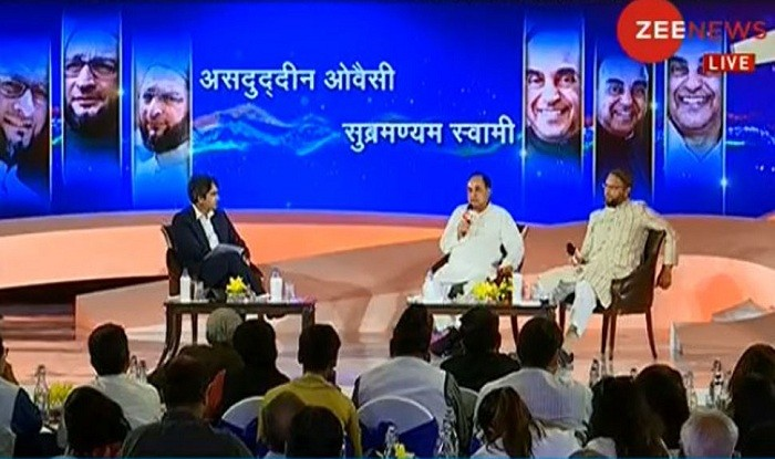 Muslim vote bank is a myth, Hindu vote bank is truth : Asaduddin Owaisi at Zee India Conclave