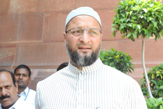 Asaduddin Owaisi alleges political marginalisation of Muslims by BJP, Congress