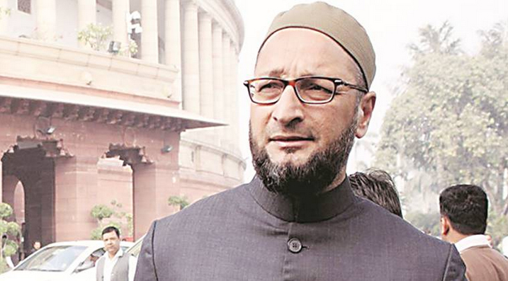 Owaisi slams the Centre over rising fuel prices