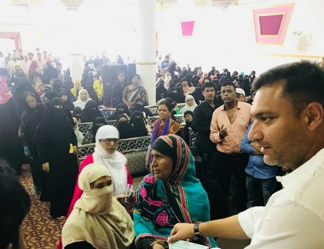 Akbaruddin Owaisi Distributed 920 Cheques Of Shadi Mubarak KalyanaLakshmi scheme.