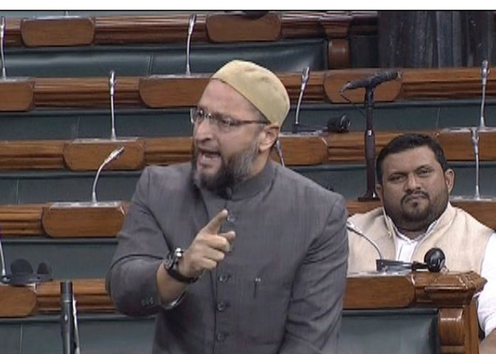 Asaduddin Owaisi demands a discussion on Indo-US 2+2 meeting in Lok Sabha