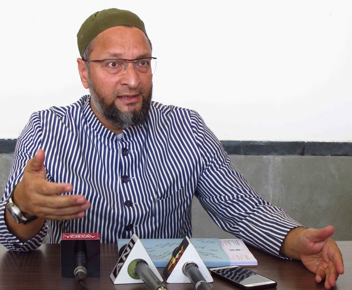 No serious effort was made by the PDP-BJP coalition to stop cross-border terrorism: Asaduddin Owaisi