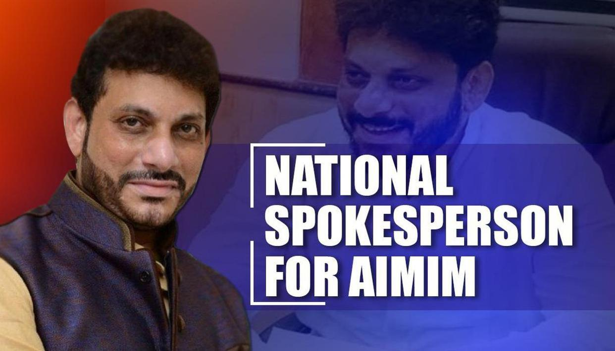 Waris Pathan named AIMIM national spokesman