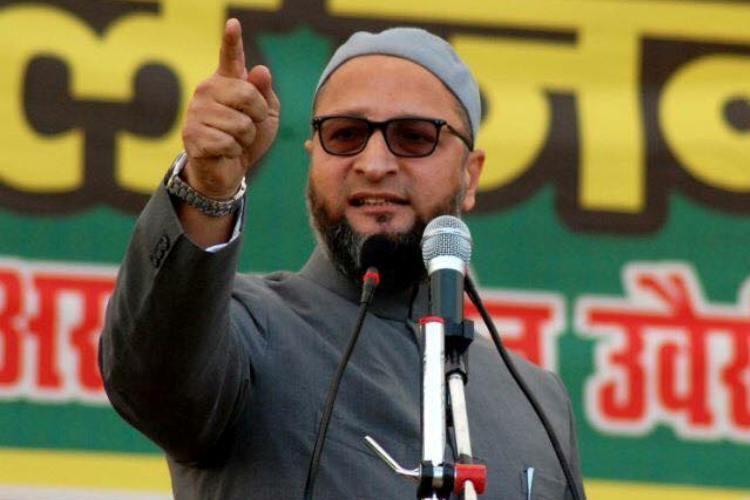 Asaduddin Owaisi urges Modi government to condemn US move on Jerusalem
