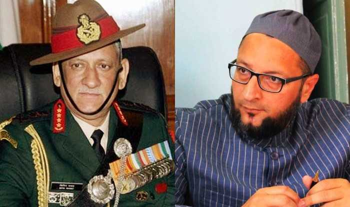 Asaduddin Owaisi takes on Army chief General Bipin Rawat over remark