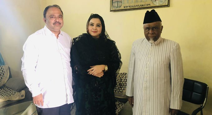Karate champion Syeda Falak joins AIMIM party