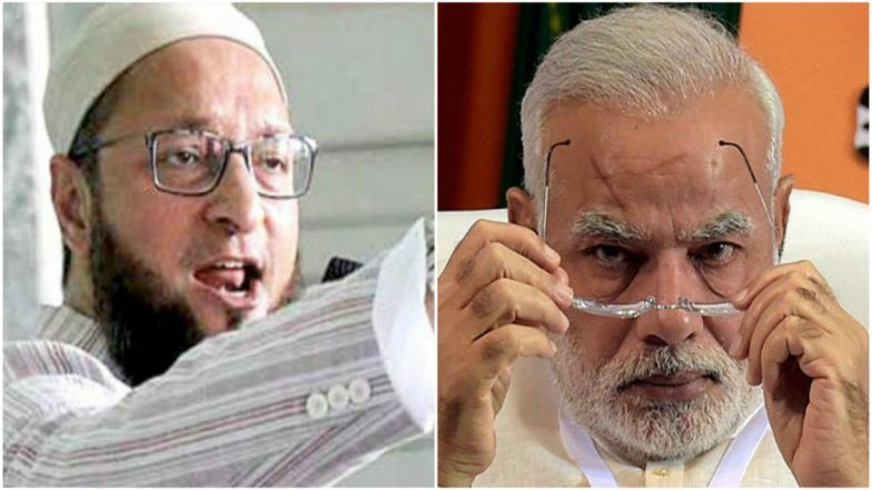 Asaduddin Owaisi dares PM Modi to reveal number of Muslims in central police forces