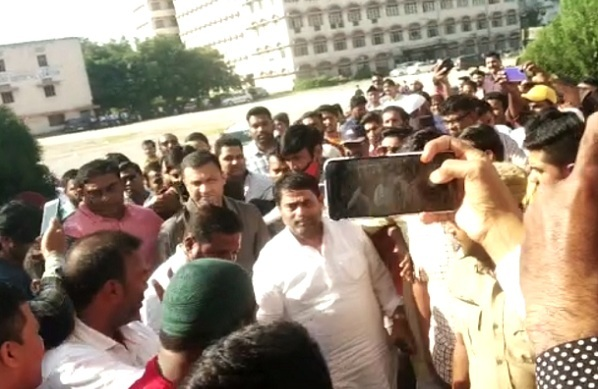Congress Leader Mohd Ghouse Back In AIMIM