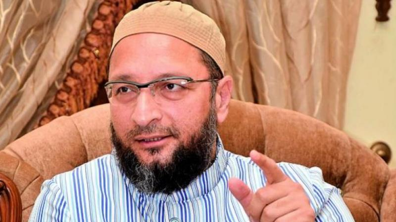 Mohan Bhagwat should stand in front of the LoC and lead the Army: Asaduddin Owaisi