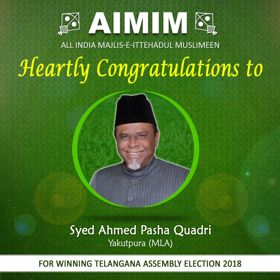 Ahmed Pasha Quadri win by big margin