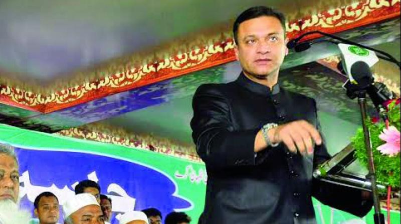 Akbaruddin Owaisi urge MIM workers to give up groupism and work together for the party