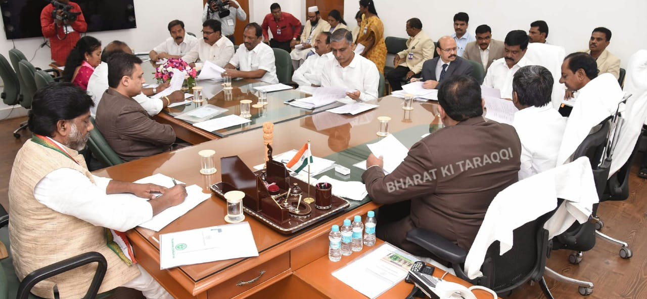 Telangana Assembly Budget Session held today