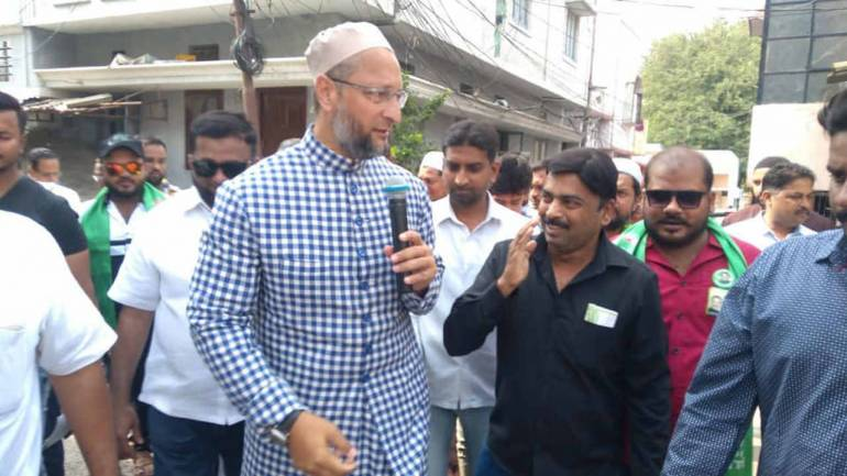 Barrister Asaduddin Owaisi to visit different localities of Charminar today