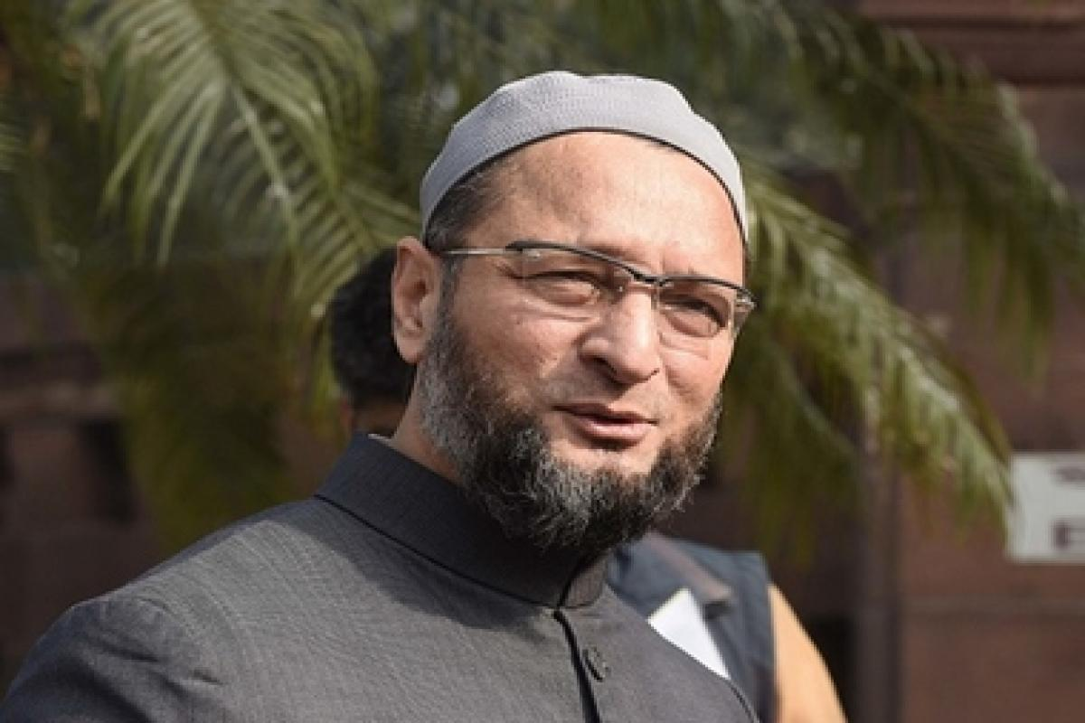 Owaisi slams BJP for protecting mob lynching accused