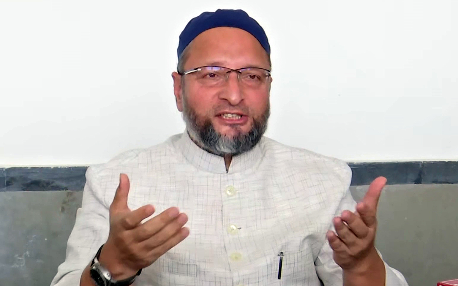 Asaduddin Owaisi appeals to the Muslims to follow Covid protocols while celebrating the festival