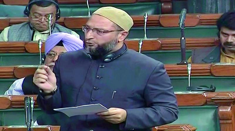 Modi has introduced a revised Triple Talaq Bill that is discriminatory and anti-women: Asaduddin Owaisi