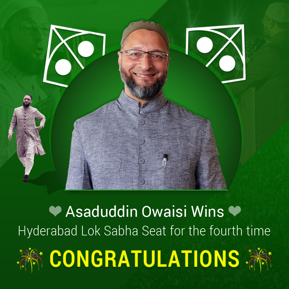 aimims-asaduddin-owaisi-wins-from-hyderabad-ls-seat-for-fourth-time-
