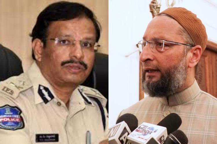 Asaduddin Owaisi slams Cyberabad CP for tweet on 'Jihadis' in IT firms