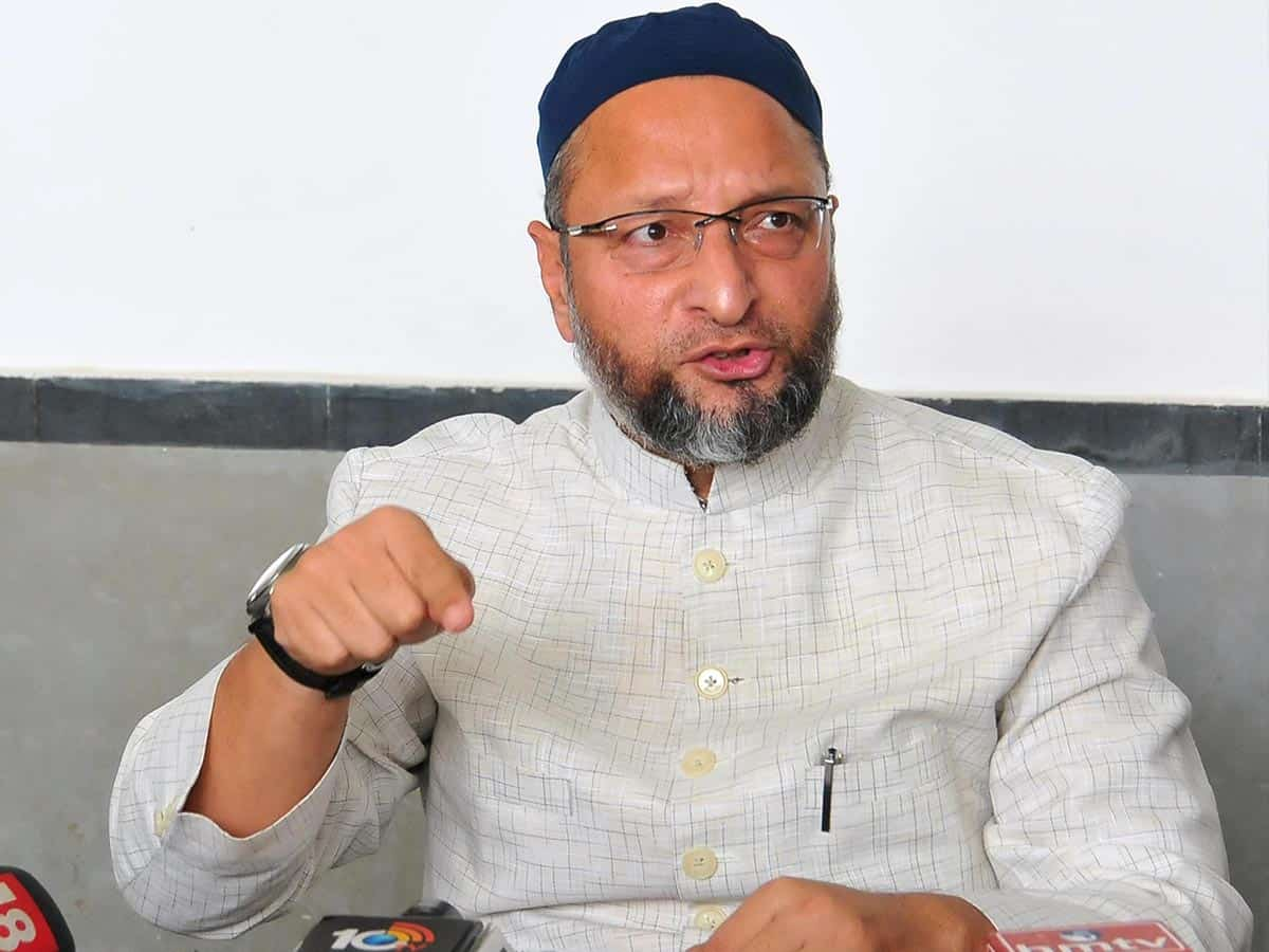 Hyderabad may become union territory: Asaduddin Owaisi