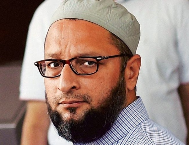 Asaduddin Owaisi voting percentage increasing continuously