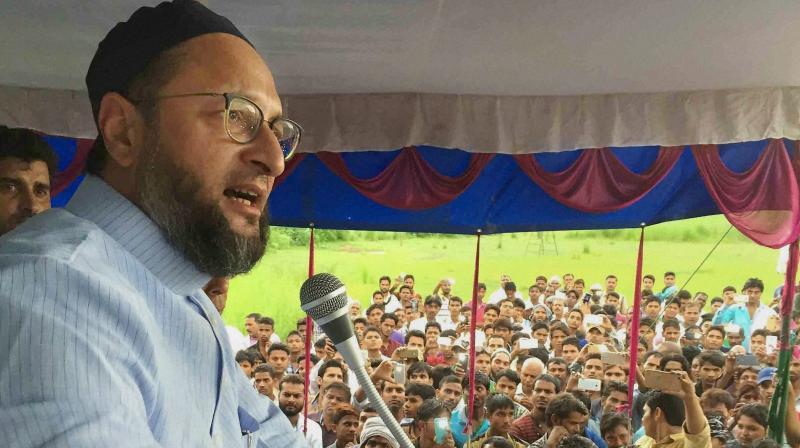 Asaduddin Owaisi urges people of Secunderabad to vote for TRS