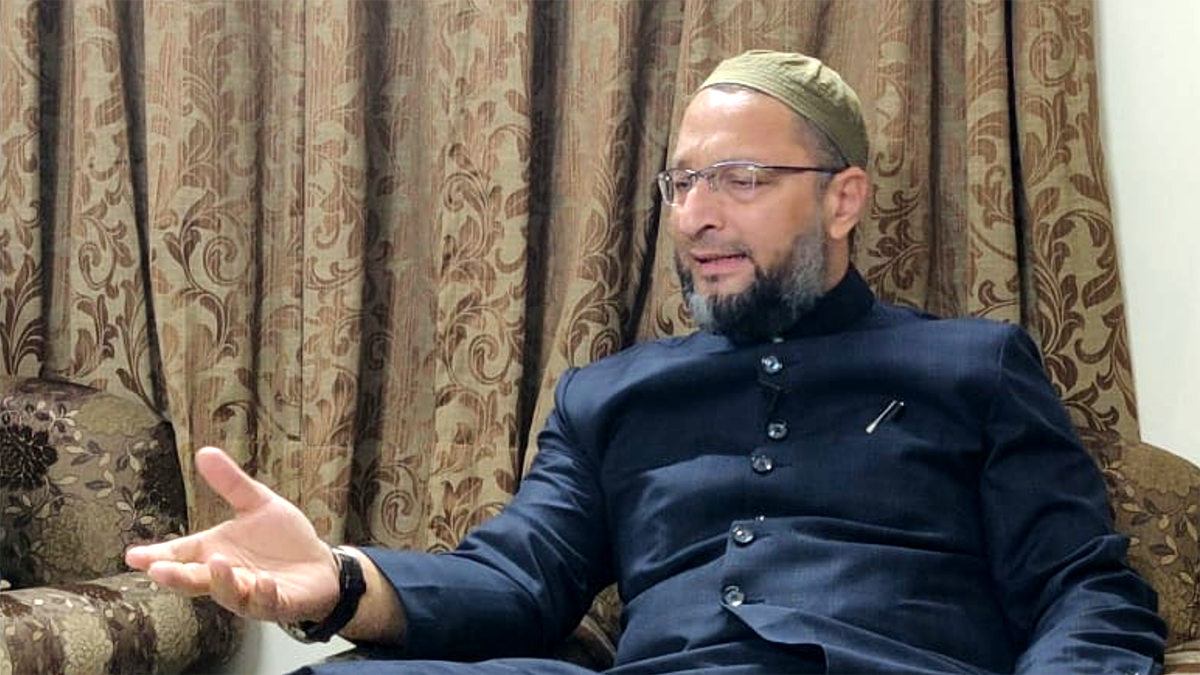 India believes in all religions, it even respects those who do not follow any religion: Asaduddin Owaisi