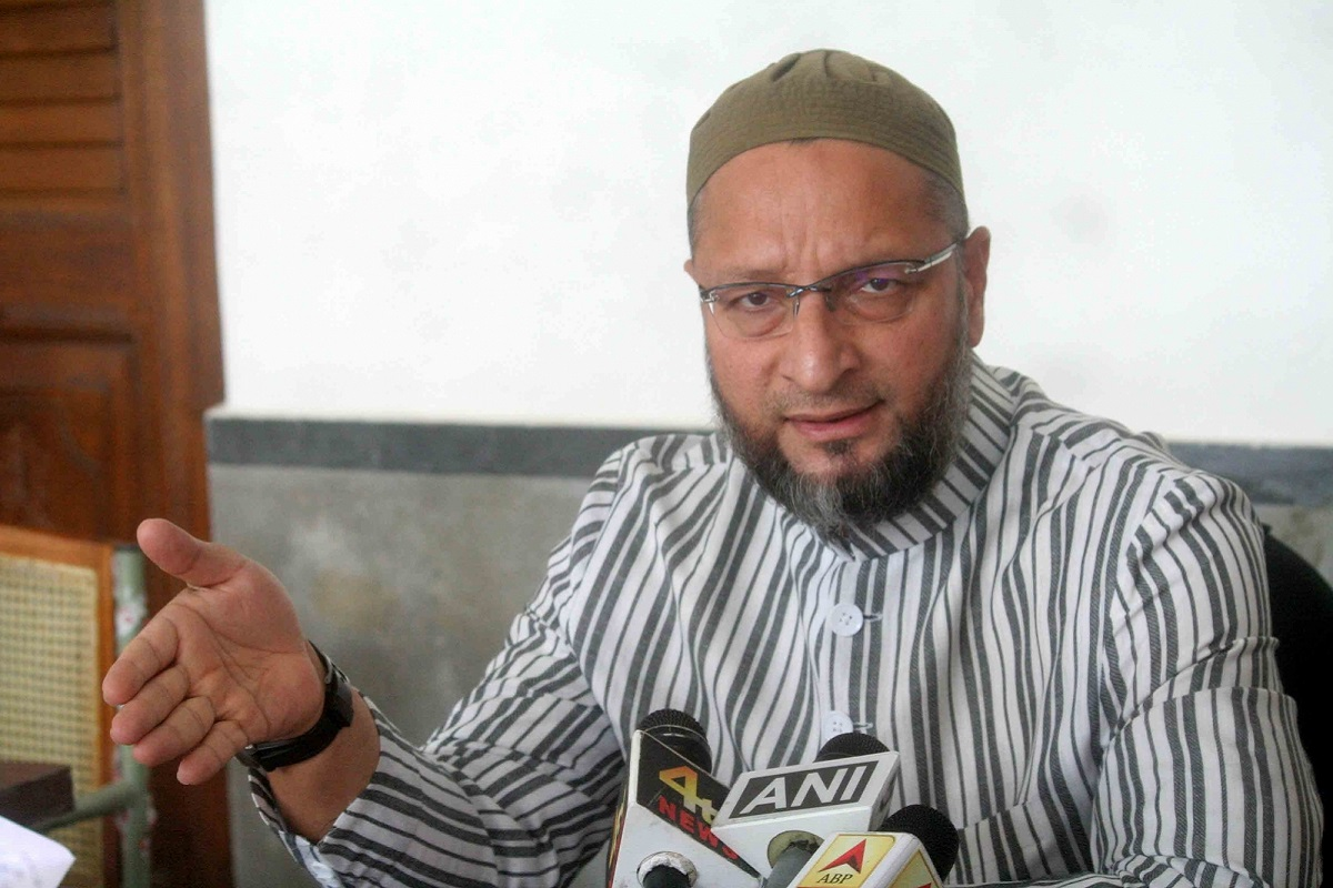 I urge Muslims of Rajasthan to stop supporting Congress: Asaduddin Owaisi