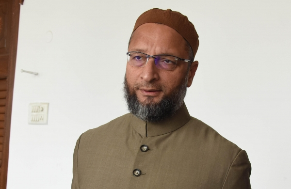 Asaduddin Owaisi says PM Narendra Modi should not attend a religious function as he represents all religions