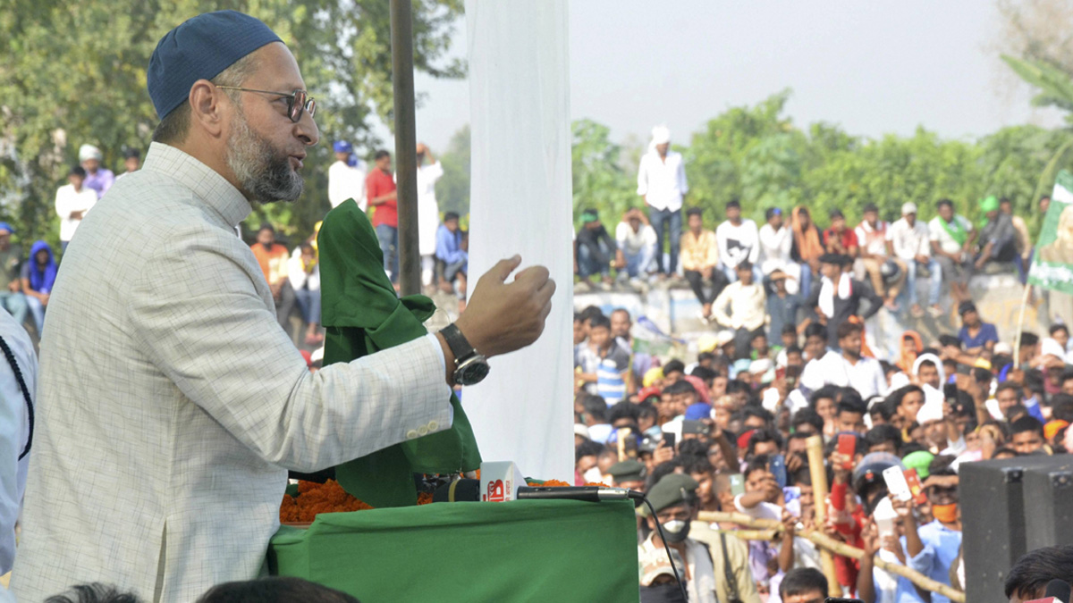 Our party is against all kinds of terrorism and want to combat it: Asaduddin Owaisi