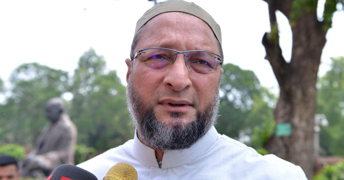 Babri demolishers rewarded: Asaduddin Owaisi
