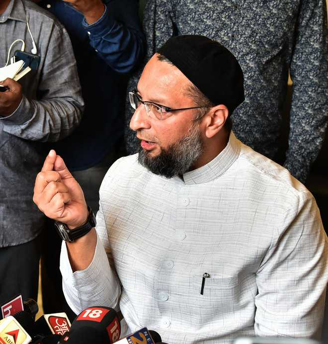 Asaduddin Owaisi says Muslim side was fighting for legal rights and does not need charity from anyone