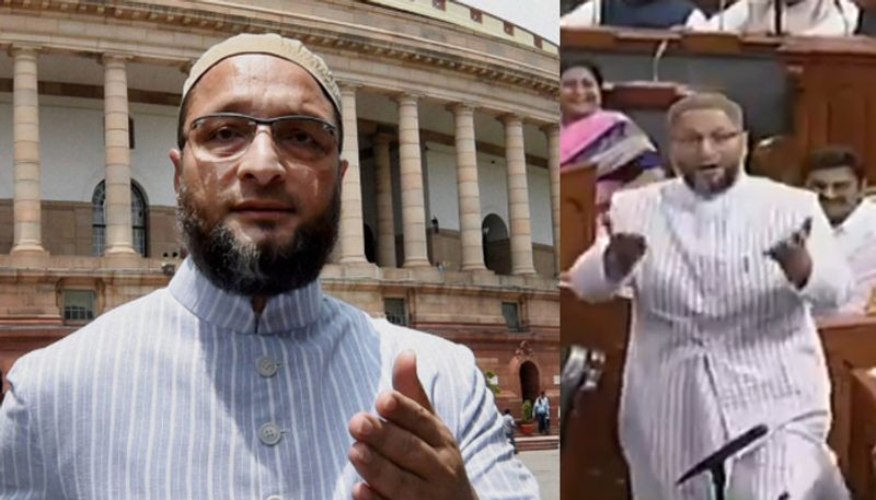 asaduddin-owaisi-says-allahu-akbar-as-mps-chant-jai-shri-ram-in-lok-sabha