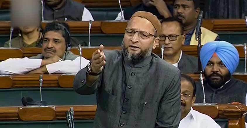 Asaduddin Owaisi slams Centre over Citizenship (Amendment) Bill