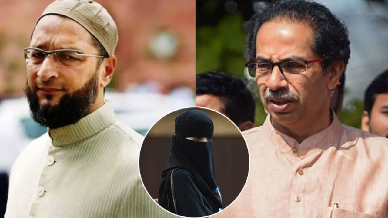 Asaduddin Owaisi urges EC action on Shiv Sena for seeking burqa ban
