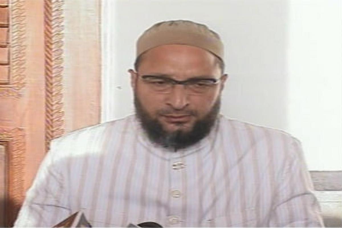 Owaisi blasts BJP on NRC