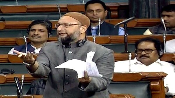 Owaisi slams on the Centre over the recent Delhi riots in Lok Sabha