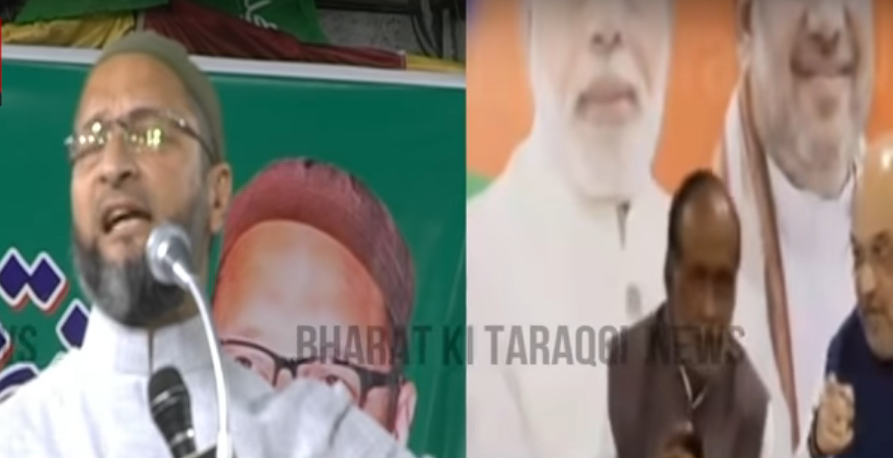asaduddin-owaisi-mocks-bjps-party-manifesto-in-ts-election-2018