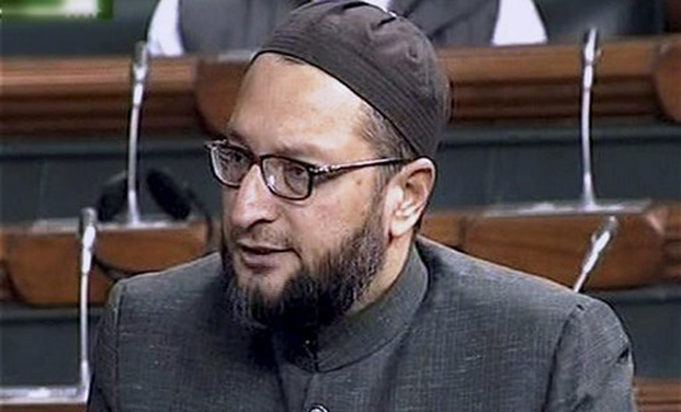 Asaduddin Owaisi blames Congress for UAPA law