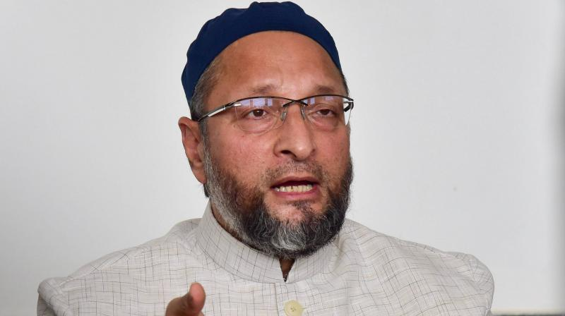 Owaisi challenges BjP to show names of Rohingyas in the electoral list