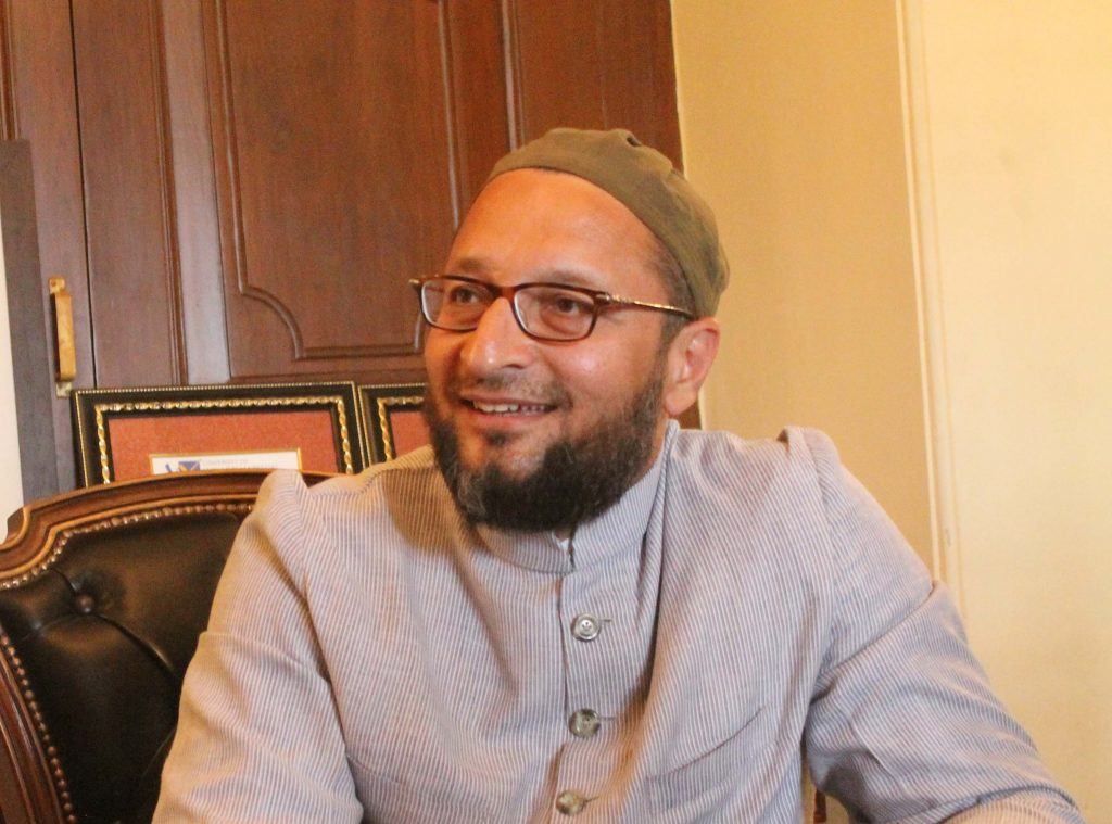 Asaduddin Owaisi urges Telangana CM KCR  to exempt MV tax for private buses