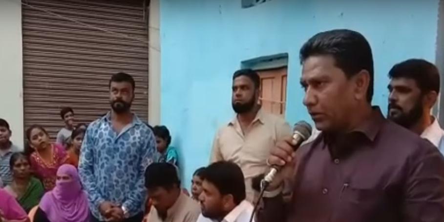 Kausar Mohiuddin visits Tolichowki Division, Akberpura in Karwan Constituency