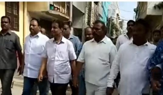 Md Mouzam Ali Khan Paidal daora Bahadupura Assembly