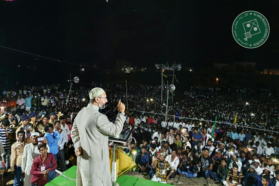 owaisi-blasts-rulers-for-ignoring-gandhi-ideals