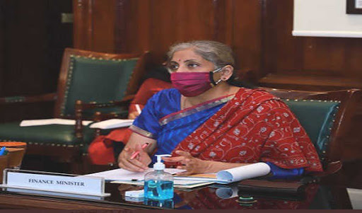 finance-minister-holds-5th-review-meeting-on-capex-of-cpses