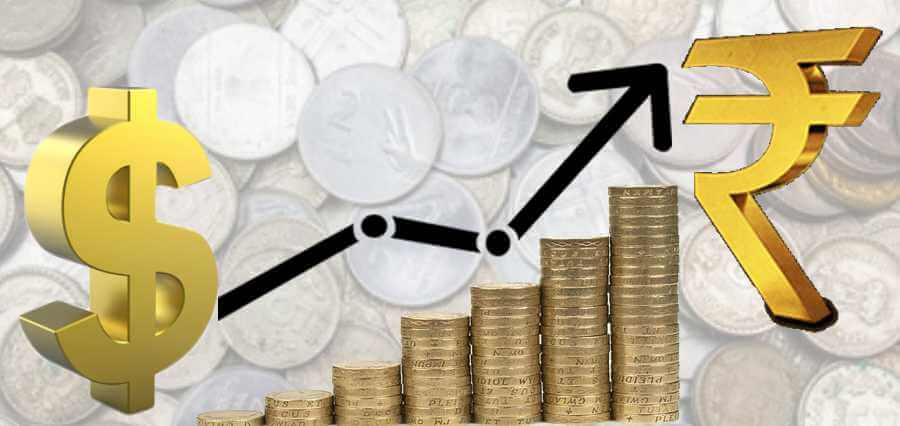 Rupee climbs 10 paise against dollar