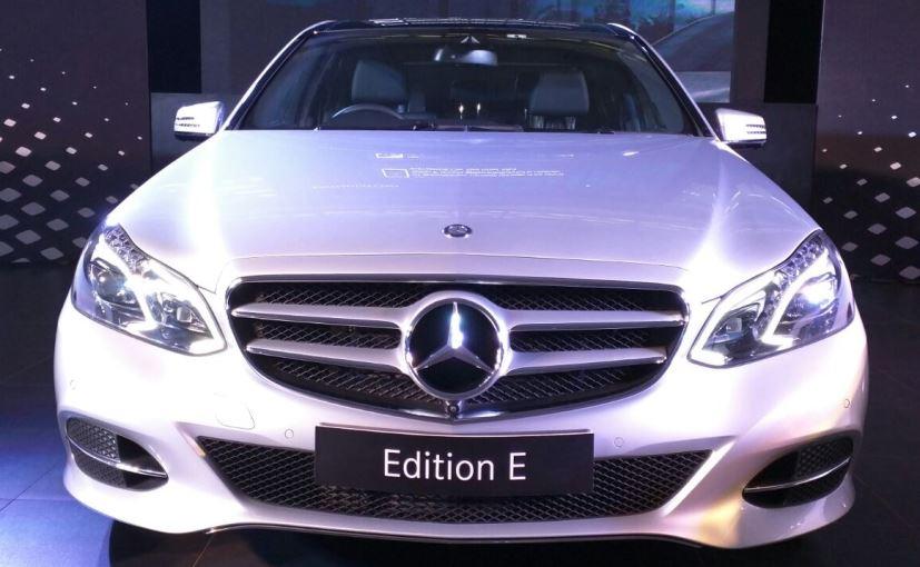 Mercedes-Benz launches new E-Class Car