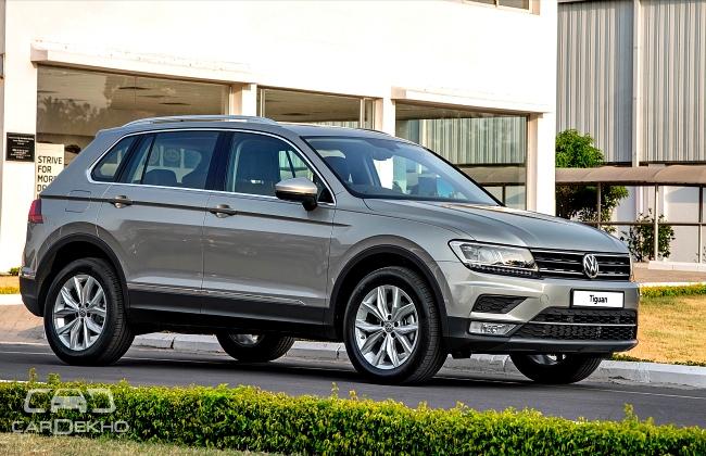 Volkswagen Tiguan makes online debut in India; launch soon