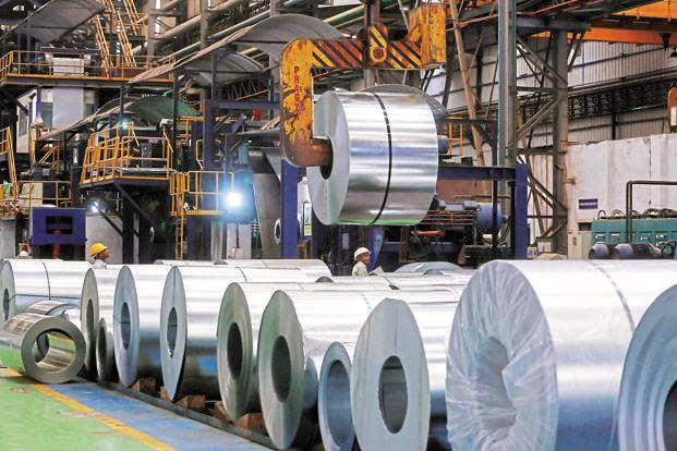 Finished steel exports increased by 16.7% to 9.6mn tonnes in 2017-18