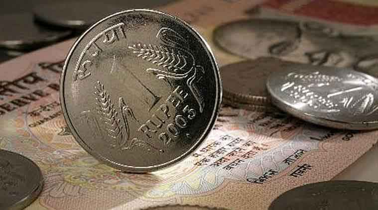 Rupee falls 2 paise against US dollar