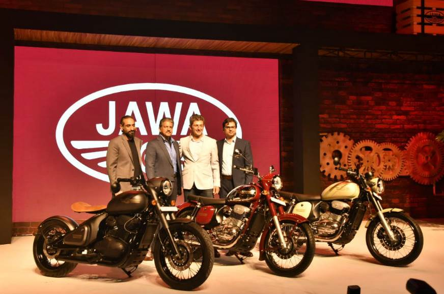 Jawa launches 3 new bike models, prices start from Rs 1.55 lakh